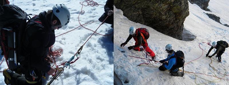 cursos de iniciación al alpinismo, montañismo,