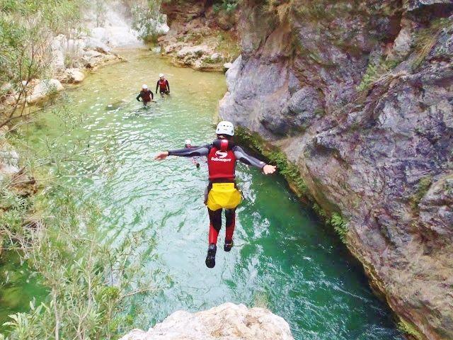 barranquismo Río Verde 001