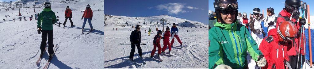 ofertas en clases y cursos de esquí