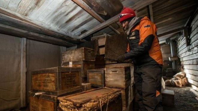 Encontradas en una cabaña del capitán Scott 22 fotos tomadas en la Antártida hace 100 años