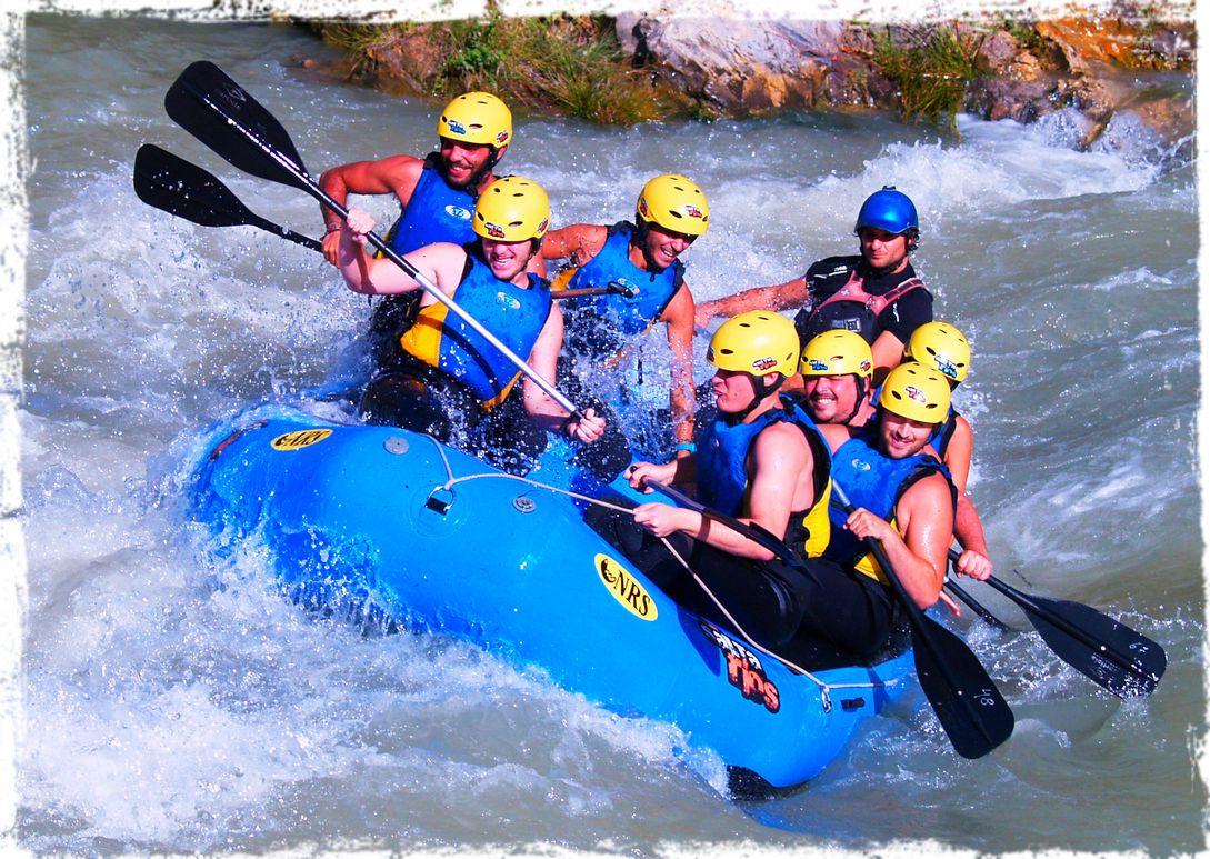 rafting con al an