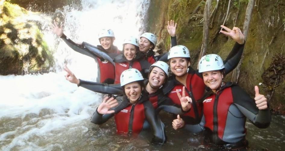 barranquismo y turismo activo en la serrania de ronda y grazalema